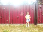 Забор из профнастила Киев,  решётки на окна Киев,  ворота для дома дачи