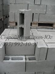 Шлакоблок перегородочный  120х200х400 мм Херсон