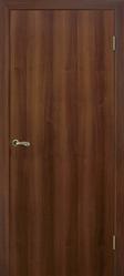 Дверь глухая гладкая орех