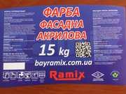 Фасадная акриловая краска BAYRAMIX